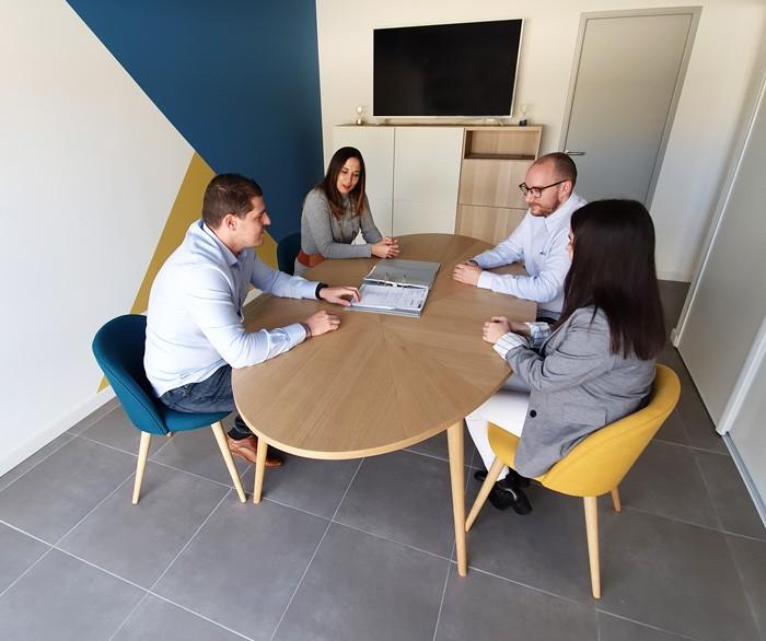 reunion de bureau chez ac expertises et conseils